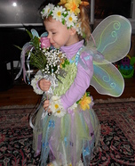 Flower Fairy Costume for Girls