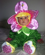 Flower Girl Baby Costume