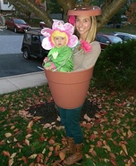 DIY Baby Flower Pot Costume