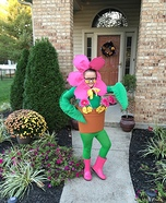 Flower Pot Costume DIY