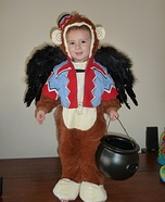 DIY Flying Monkey Baby Costume