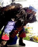Flying Monkey Dog Homemade Costume