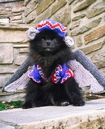 Flying Monkey Puppy Homemade Costume