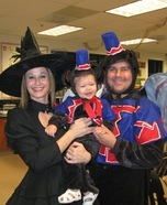 Flying Monkeys and the Wicked Witch Family Costume