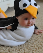 Homemade Penguin Costume for Babies