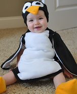 Costume ideas for baby's first Halloween - Penguin Costume for Babies