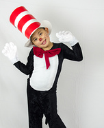 Flying with the Cat in the Hat Homemade Costume