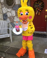 FNAF Chica Homemade Costume