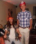 Forrest Gump and Lieutenant Dan Couple Costume