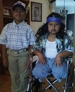 Forrest Gump and Lieutenant Dan Kid Costume