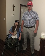 Forrest Gump and Lieutenant Dan Costumes