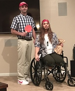 Forrest Gump and Lieutenant Dan Costume
