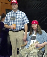 Forrest Gump and Lt Dan Halloween Costumes