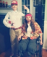 Forrest Gump and Lt. Dan Costume for Couples