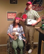 Forrest Gump and Lt. Dan Costumes