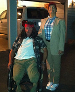 Forrest Gump and Lt Dan Homemade Costume