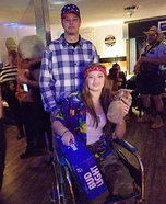 Forrest Gump and Lt. Dan Homemade Costume