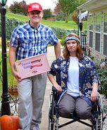 Couples Halloween costume idea: Forrest Gump & Lt. Dan Costumes