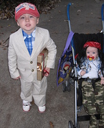 Forrest Gump & Lt. Dan Kids Costume