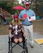 Forrest Gumps and Lieutenant Dan Homemade Costume