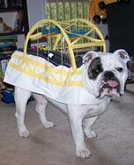Fort Pitt Bridge Dog Homemade Costume