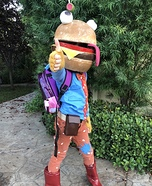 Fortnite Beef Boss Homemade Costume