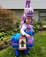 Fortnite Loot Llama Homemade Costume
