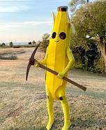 Fortnite Peely Homemade Costume