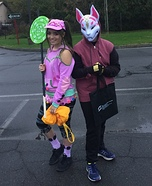 Fortnite Zoey & Drift Homemade Costume