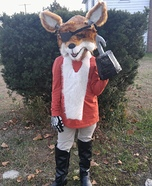 Foxy Homemade Costume