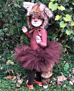 Foxy Baby Homemade Costume