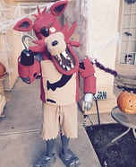 Foxy from Five Nightts at Freddy's Homemade Costume
