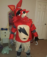 Foxy the Pirate Homemade Costume