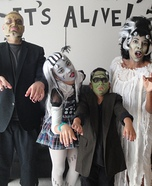 Frankenfamily Homemade Costume