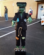 Frankenstein Homemade Costume