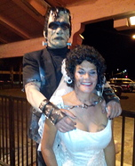 Frankenstein and Bride Homemade Costume