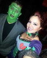 Frankenstein and his Bride DIY Couple Costume