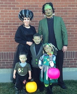 Frankenstein Family Homemade Costume