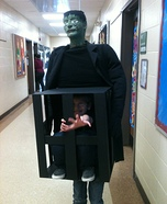 Frankenstein Stole Me! Homemade Costume