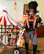 Freak Show Ringmaster Homemade Costume