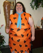 Fred Flintstone Homemade Costume