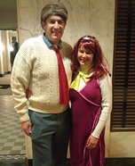 Fred Jones and Daphne Blake Homemade Costume