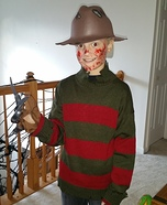 Freddie Boy's Costume