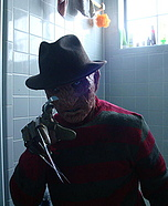 Freddy Krueger Movie Costume