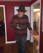 Freddy Homemade Costume