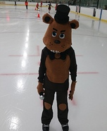 Freddy Frazbear Homemade Costume
