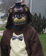 Freddy from Five Nights at Freddy's Homemade Costume