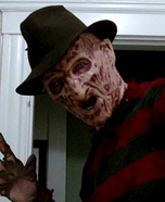 Homemade Freddy Krueger Costume