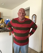 DIY Freddy Krueger Costume