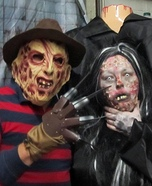 Freddy Krueger and Headless Woman Homemade Costume